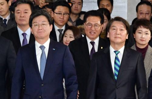 통합 쐐기 박은 안·유…'정체성 차이' 의문은 계속
