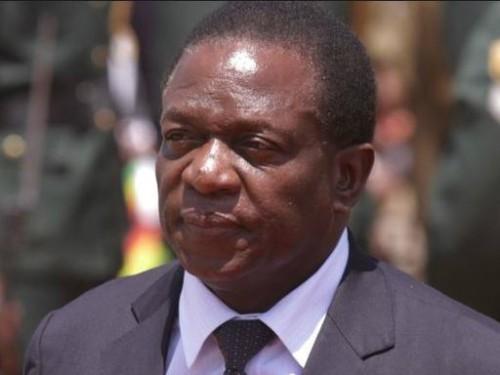 짐바브웨 새 대통령 음난가그와 취임