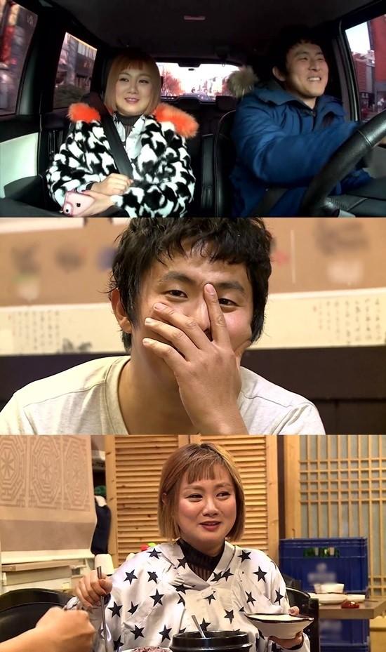 """박나래♥기안84, 국밥집에서 싹튼 '핑크빛 썸""""…""""오빠가 좋아요"""""""