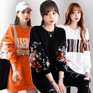 디프니 봄신상~롱티셔츠/맨투맨/블라우스