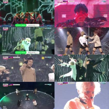 신예 그룹 에이스, 쇼챔피언 무대