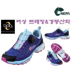 네파 NEPA (여성 메쉬 등산화) 트레킹화 워킹화 네토 슈즈_7B27628