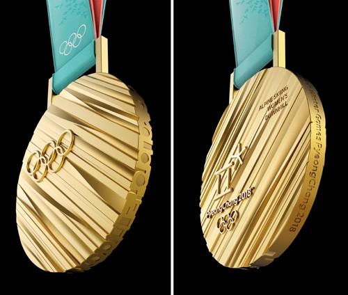 금메달의 위용