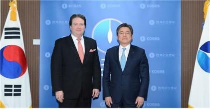 정승일 가스공사 사장, 미국과 천연가스 협력 논의