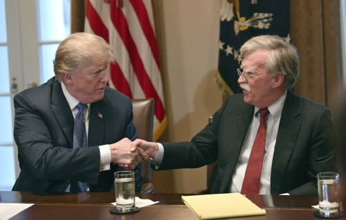 """""""'결실 없으면 회담장 나올것' 트럼프 언급, 볼턴 아이디어"""""""