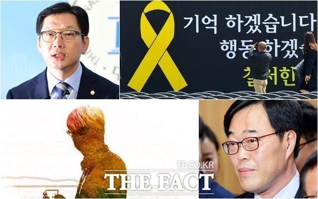 '드루킹' '김경수' '세월호' 검색 키워드로 본 한 주간의 정치