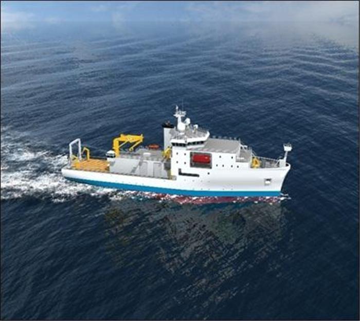 해양조사선 '이사부호' 대양 연구 나서