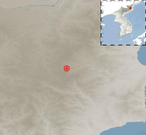 풍계리 핵실험장 부근서 규모 2.3지진, 지난해 6차 핵실험 여파