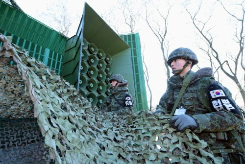 """국방부 """"대북 확성기 방송 23일 0시부로 중단"""""""
