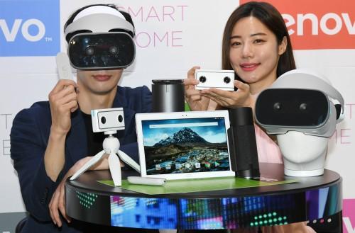 한국레노버, 미래형 스마트 디바이스 공개