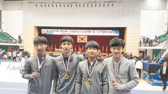 경주공고, 회장배전국우슈선수권대회 및 국가대표선발전서 금 2개, 은 2개 획득