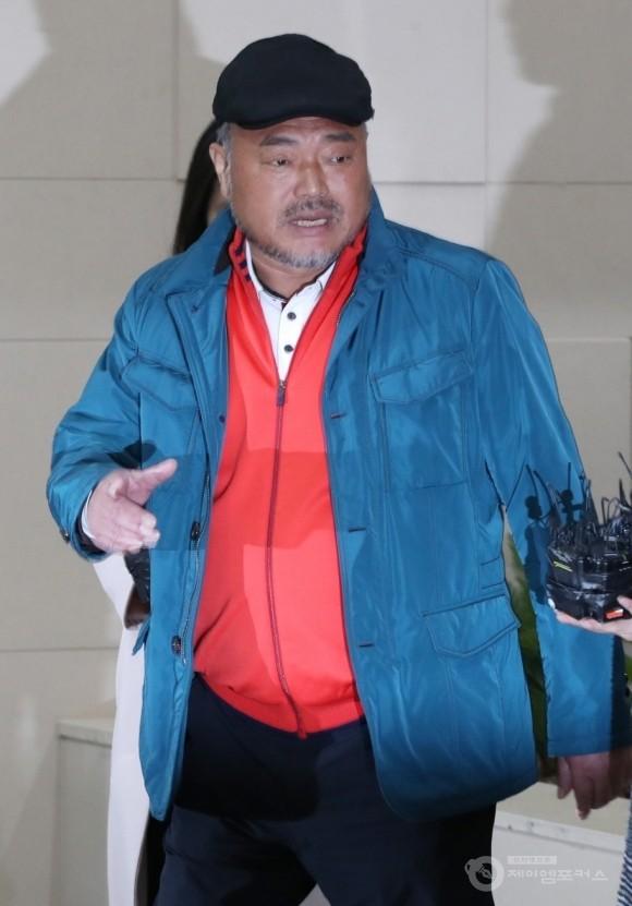 김흥국, 아내 폭행 혐의 입건
