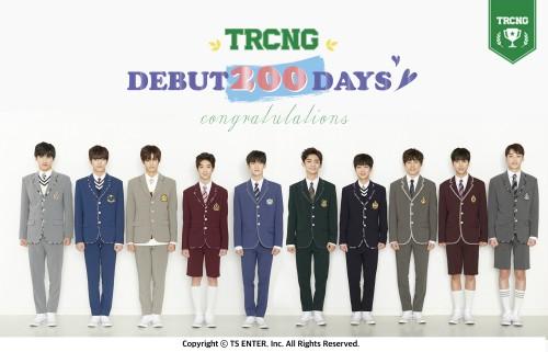그룹 TRCNG, 데뷔 200일 기념 'V라이브' 오늘(27일) 오후 5시 진행