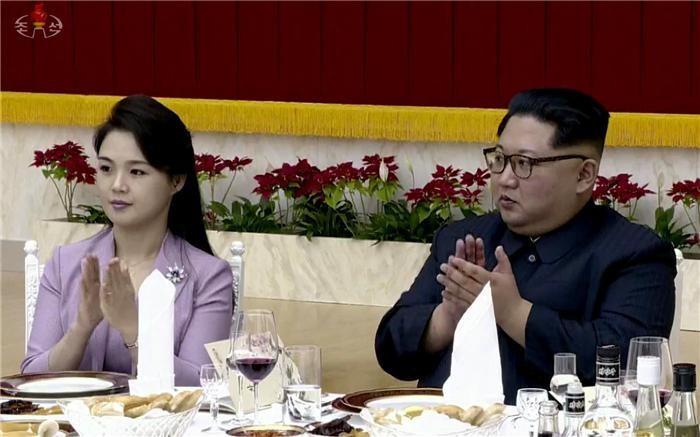(2018 남북정상회담)리설주, 정상회담 후 만찬 참석