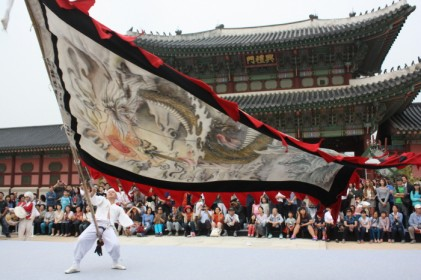 한옥마을 전통연희 퍼레이드 2018