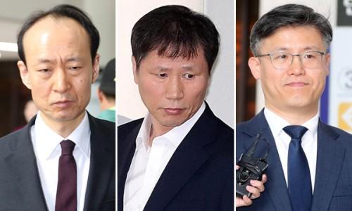 檢, 특활비 상납 '문고리 3인방' 징역 4~5년 구형