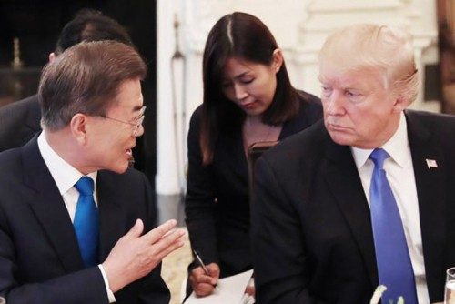 文대통령, '北·美회담 궤도 이탈 막아라' 트럼프 설득 총력