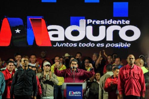 베네수엘라 대선 경제난 부른 마두로 재선