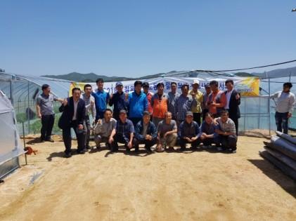 참외 악성노동력 절감 모델 개발 시범사업 연시회 개최