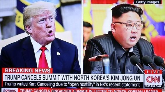 트럼프, 북미회담 전격 취소…풍계리 핵실험장 폐기직후