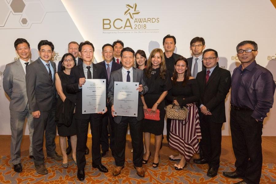 현대건설, 싱가포르 건설대상서 3년 연속 품질대상