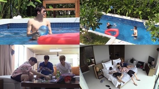 목격담 없는 이유?…'이불밖' 강다니엘 4인방 '다낭 스테이케이션' 공개