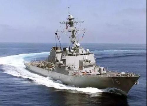남중국해 군사긴장 고조, 미 군함 두 척 '항행자유' 작전… 中 군함파견 맞대응