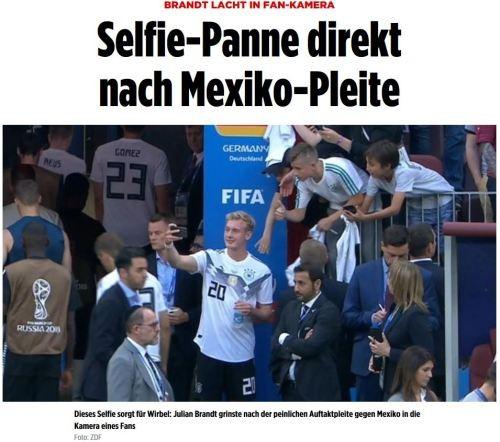 """""""팬들 요청에 찍었는데""""…독일 대표팀 '셀피' 논란"""