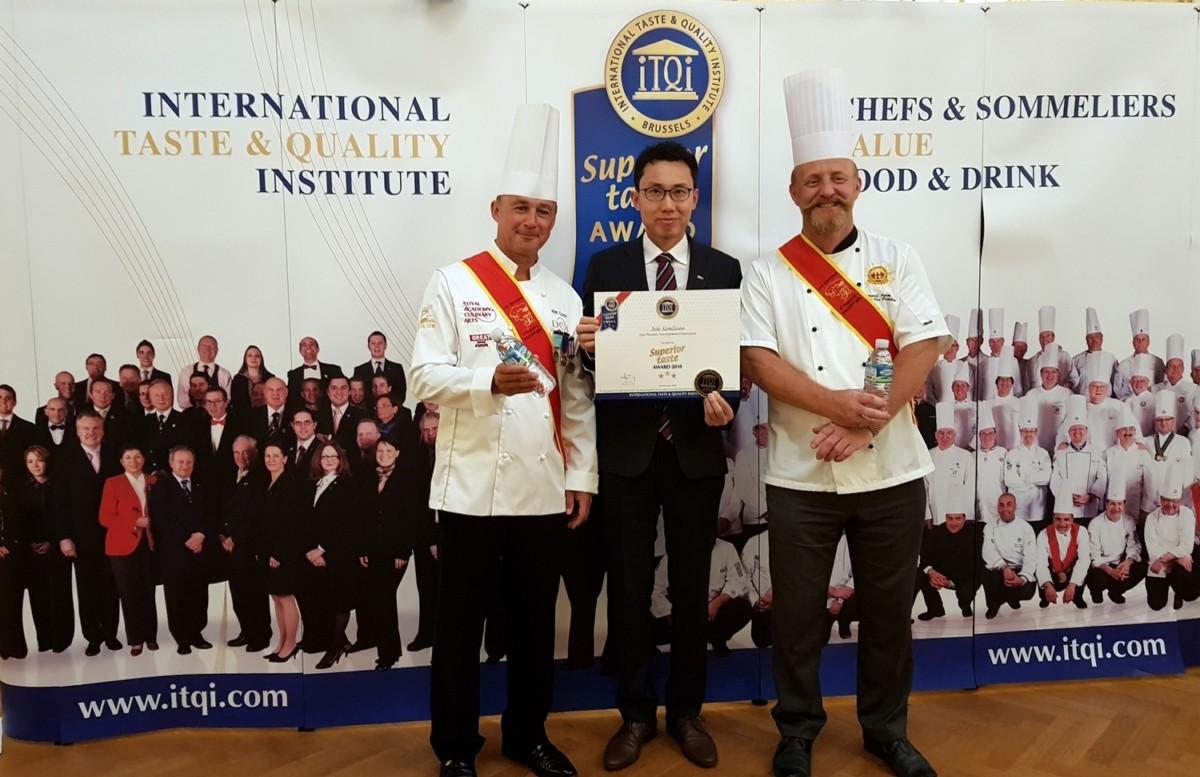 제주삼다수, 국내 최초 '국제 우수 미각상' 수상