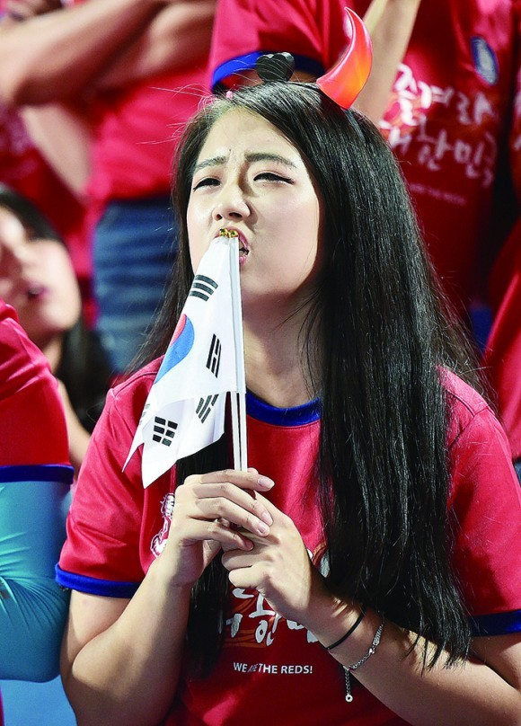 대한민국 스웨덴 전 아쉽게 패배 0-1