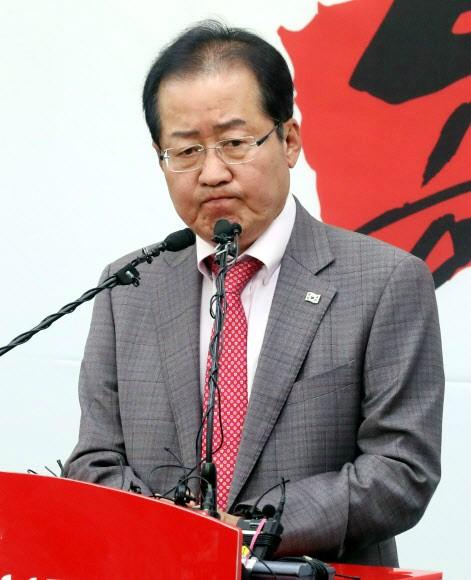 자유한국당 대표 사퇴한 홍준표, 변호사 개업할 듯