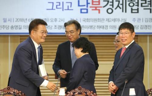 與, 남북경협 지원, 국회 '남북특위' 추진