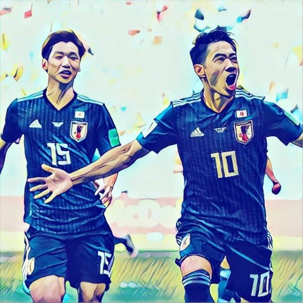 일본 축구, 10명 싸운 콜롬비아에 2-1 신승…16강 청신호