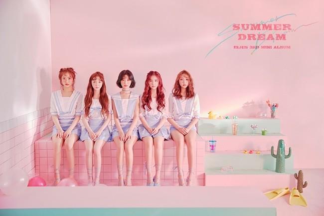 '시선 강탈 S급 비주얼' 엘리스, 상큼+청량 '써머 드림' 콘셉트 포토 B컷 공개