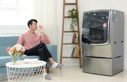 LG, AI 탑재 세탁기 '트롬 씽큐' 내놔 외