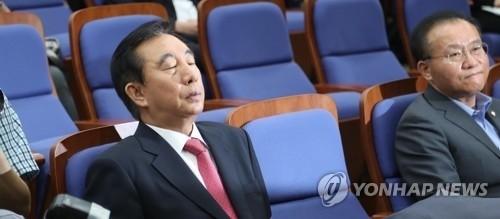 '혼돈의 자유한국당'..김성태 사퇴요구도 나와