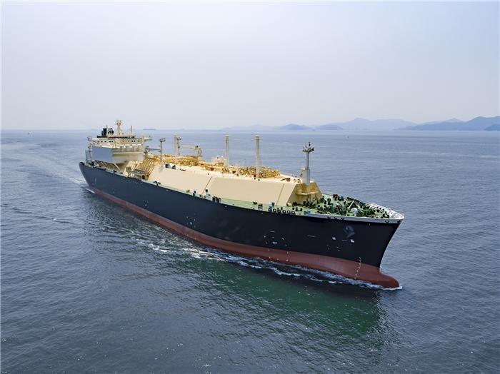 대우조선, LNG 운반선 수주…올해 실적목표 44% 달성