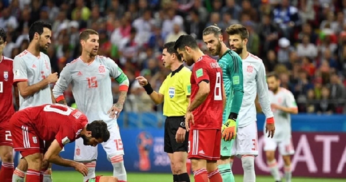 """카르바할, 이란 침대축구 비판 """"반칙 안했는데 쓰러져"""""""