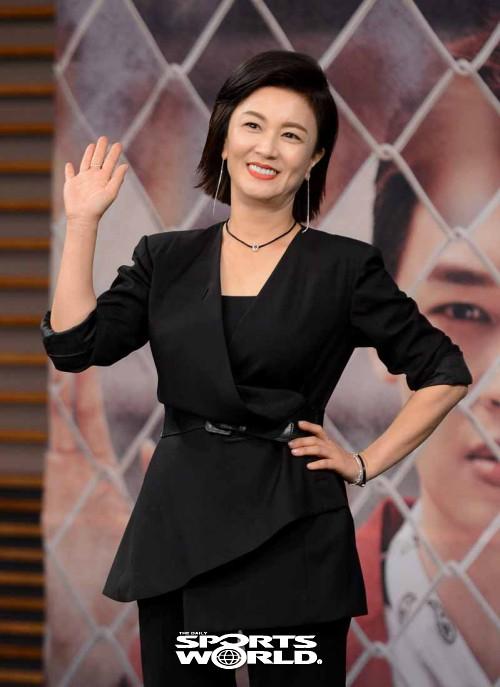카리스마 넘치는 김혜선