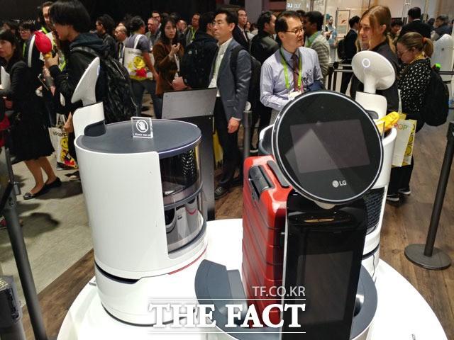 경쟁력 강화 총력…로봇에 빠진 LG전자