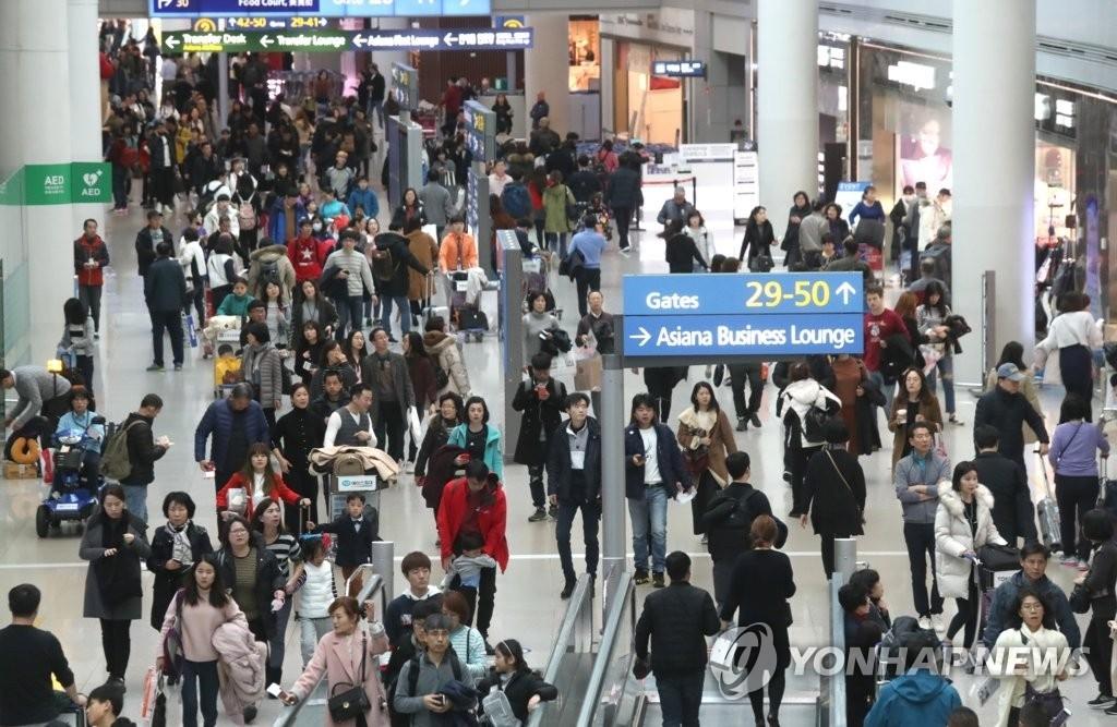 유럽인들, 한국 방문 늘었다…여행수지 적자 지역 미국 제치고 1위