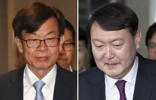 '개혁 쌍두마차' 김상조·윤석열…찰떡공조 '빨간불'?