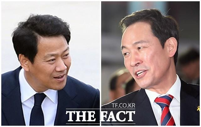 임종석-우상호 설왕설래…'자나 깨나 입조심'