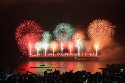부산불꽃축제 2018