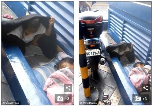 폭우 속 옷 뒤집어쓰고 숙제…'가족 행복' 꿈꾸는 필리핀 소녀