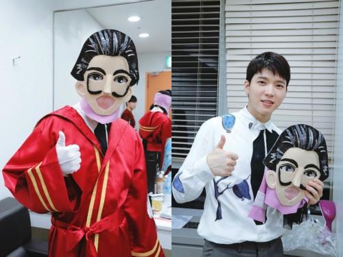인피니트 남우현, '복면가왕' 출연하자 실검 1위 오르며 화제