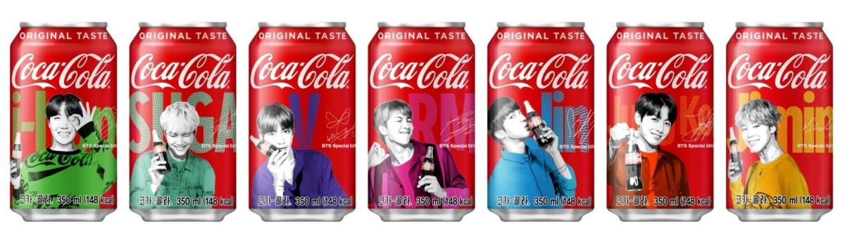 코카콜라에 방탄소년단 얼굴이 '쏙'…스페셜패키지 출시