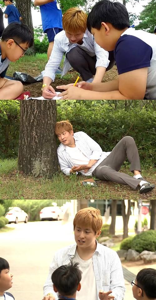'나혼자산다' 기안84, 초등학생들의 슈스로 거듭 '남다른 매력'