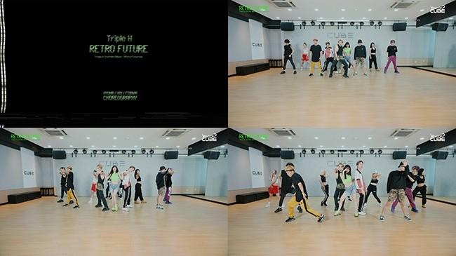 트리플 H, 신곡 'RETRO FUTURE'안무영상 공개 '케미폭발'