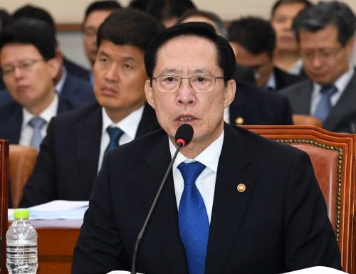 """송영무 """"軍 정치개입 마지막 되게 할 것"""""""